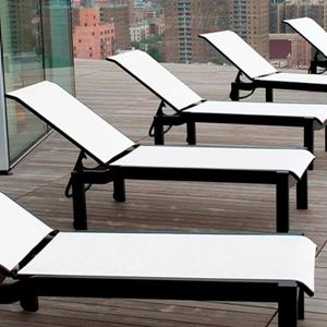 Vinyl Strap Commercial Chaise Lounge commercial pool ...
