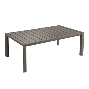 "24"" x 40"" Sunset Aluminum Cocktail Table, 21 lbs. - Fusion Bronze"