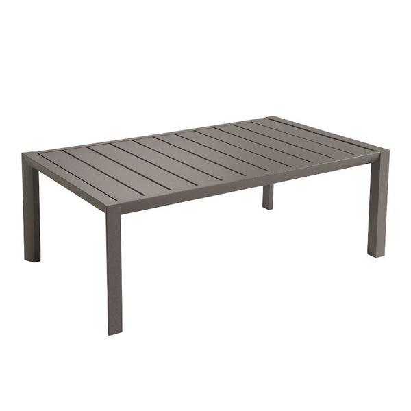 "24"" x 40"" Sunset Aluminum Cocktail Table, 21 lbs. - Fusion Bronze"