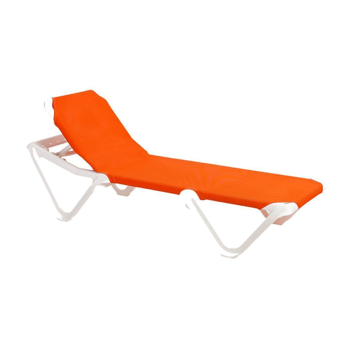 Chaise Lounge Frame Sling Plastic Resin Nautical Pool Furniture Supply