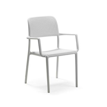 Bora Stacking Plastic Resin Dining Chair