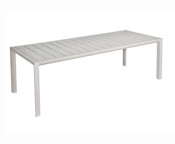 "86"" X 35"" Sunset Rectangular Aluminum Dining Table, 66 Lbs."