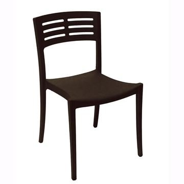 Vogue Stacking Chair, Air Modeled Plastic