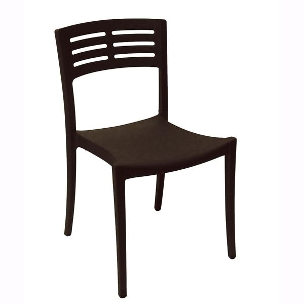 Enjoyable Vogue Stacking Chair Air Modeled Plastic 9 Lbs Home Interior And Landscaping Ologienasavecom