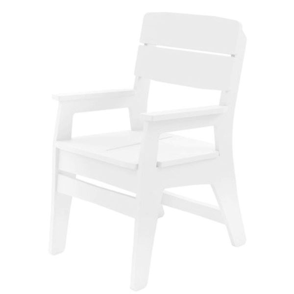 Ledge Lounger Mainstay Polyethylene Dining Armchair