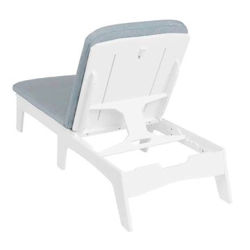 Ledge Lounger Mainstay Polyethylene Chaise Lounge