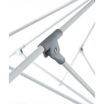 11 Foot Octagonal Fiberglass Market Umbrella with Marine Grade Fabric with Crank Lift