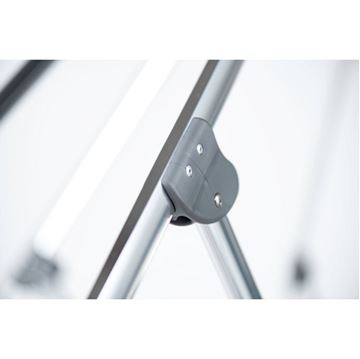 9 Foot Octagonal Fiberglass Market Umbrella with Auto Tilt and Crank, Marine Grade Fabric