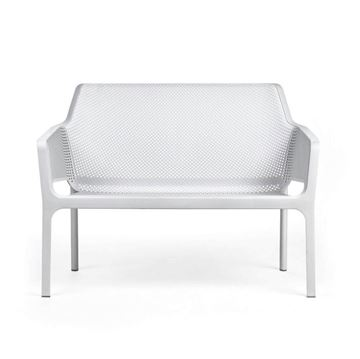 Net Fiberglass Resin Bench