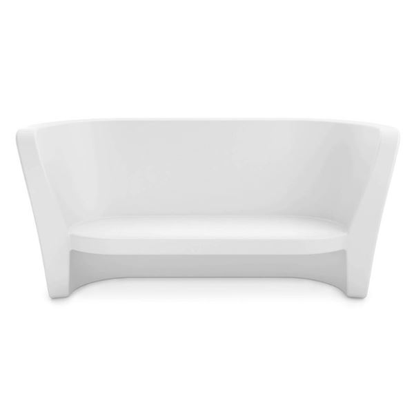 Ledge Lounger Affinity Polyethylene Loveseat