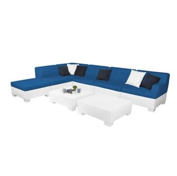 Ledge Lounger Affinity Sectional Left Armchair