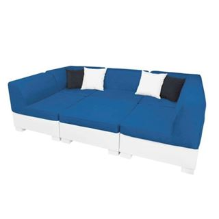 Ledge Lounger Affinity Sectional - 6 Piece Set