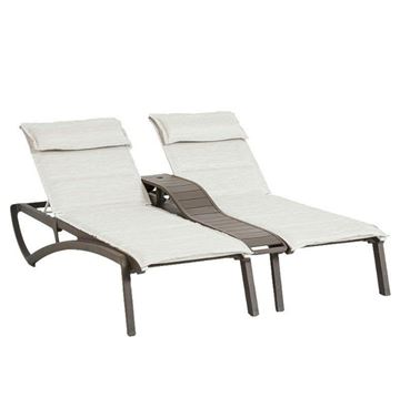 Sunset Comfort Sling Duo Chaise Lounge
