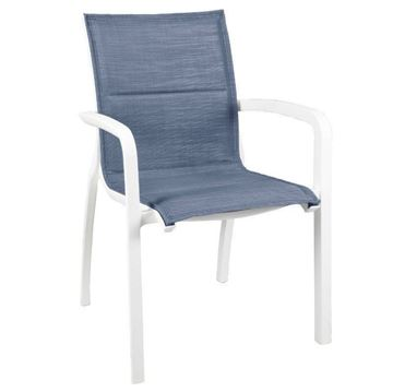 Sunset Comfort Sling Stacking Armchair