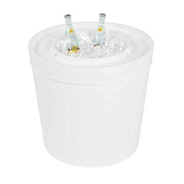 Ledge Lounger Signature Ice Bin Side Table