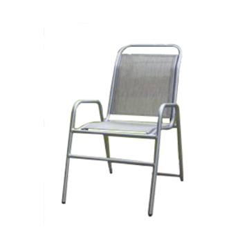 Daytona Commercial Sling Chaise Lounge with Powder-Coated Aluminum Frame - Stackable