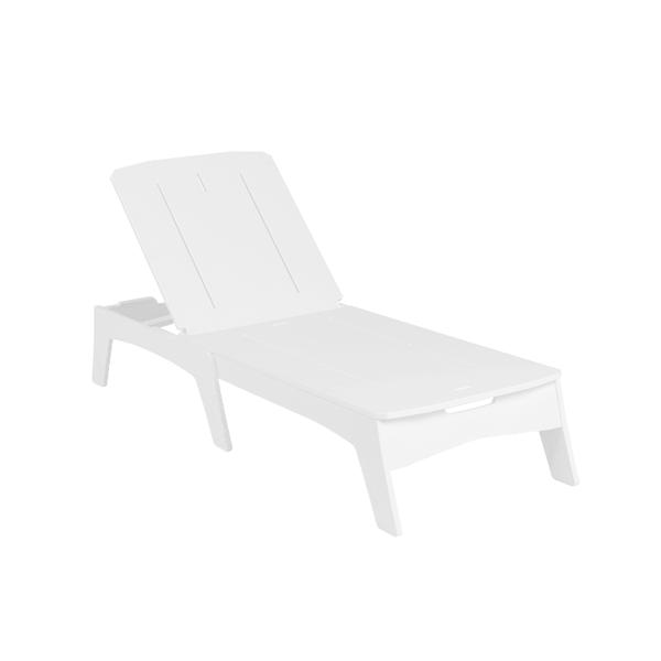 Ledge Lounger Mainstay Polyethylene Chaise Lounge
