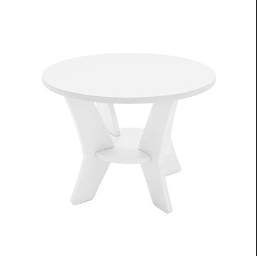 Ledge Lounger Mainstay Polyethylene Round Side Table