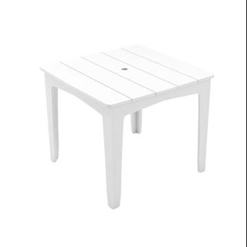 Ledge Lounger Mainstay Polyethylene Square Dining Table