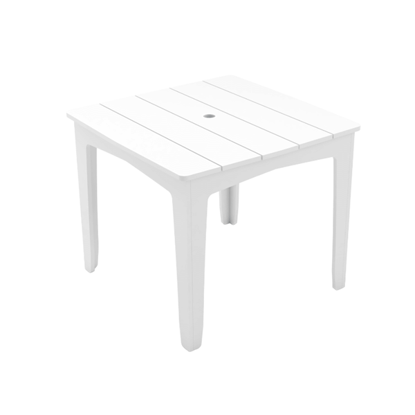 Ledge Lounger Mainstay Polyethylene Square Dining Table