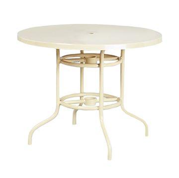 "42"" Round Fiberglass Dining Table"