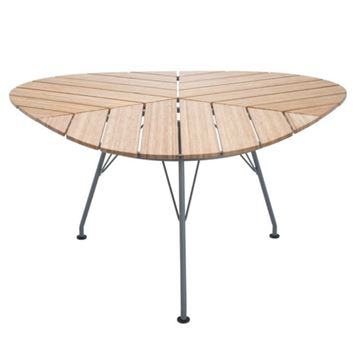 """Ledge Lounger 58"""" Bamboo Playnk Triangle Dining Table - 51.5 lbs."""