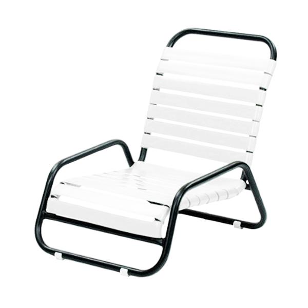 Sanibel Vinyl Strap Sand Chair with Aluminum Frame - 11 lbs.
