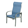 Madison Sling Dining Chair with Aluminum Frame - 18 lbs.