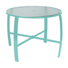 """42"""" Round Pinnacle Gathering Table with Extruded Aluminum Frame- 34"""" or 40"""" Heights"""