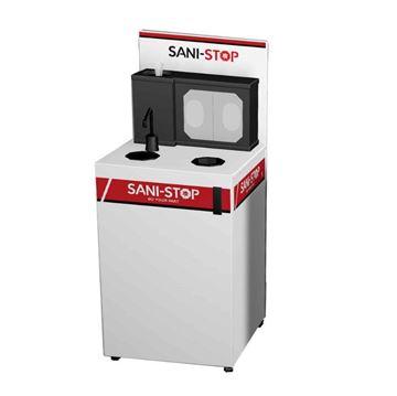 Mobile Hand Sanitation Station Sani-Stop - 72 lbs.