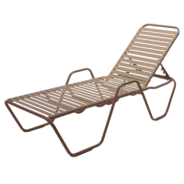 St. Maarten Chaise Lounge with Arms