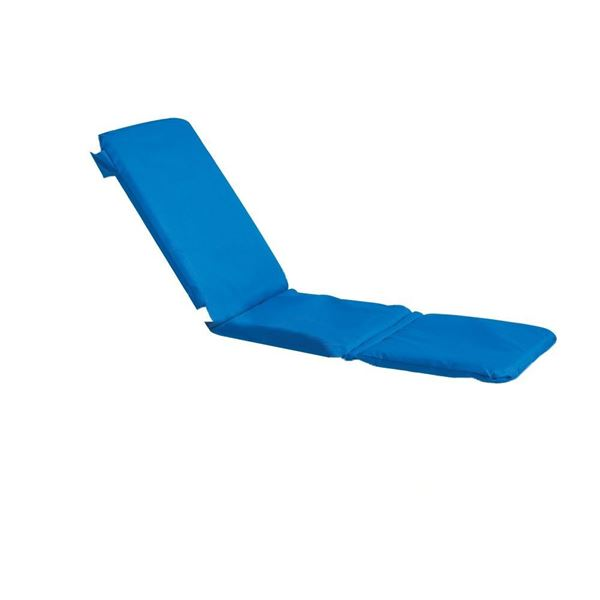 Bahia Contract Chaise Cushion With Hood - Royal Blue