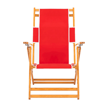 Oak Wood Beach Chair