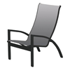 Kendall Sling Stacking Height Chair with Powder-Coated Aluminum Frame - 12 lbs.