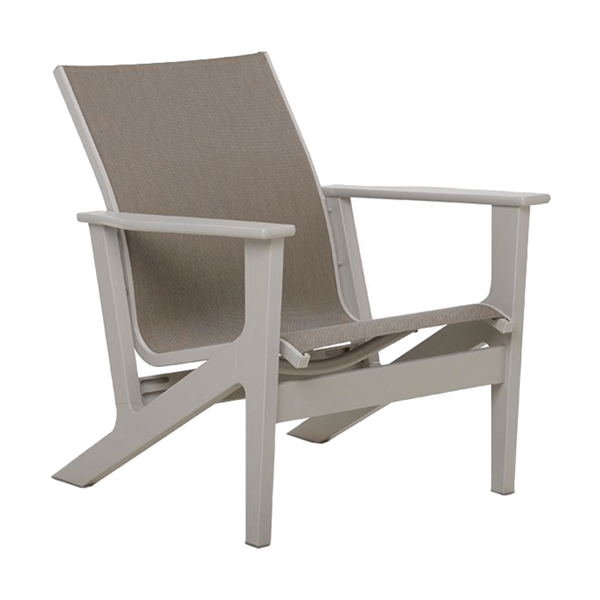 Wexler MGP Chat Height Sling Arm Chair - 26 lbs.