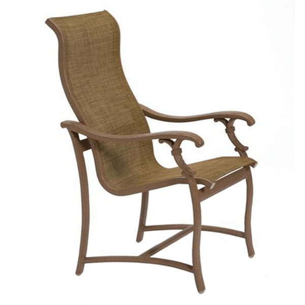 Tropitone Ravello Sling High Back Patio Dining Chair
