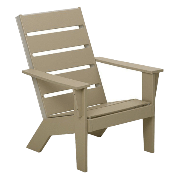 Hudson MGP Dining Chair with Bottle Opening Armrest - 39 lbs.