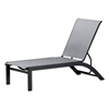 Telescope Kendall Sling Stacking Chaise Lounge with Aluminum Frame