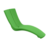 Curve Chaise Lounge made of Rotoform Polymer
