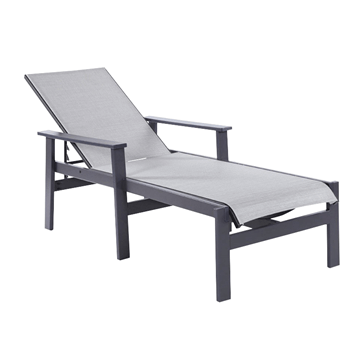 Sienna Sling Chaise Lounges with Marine Grade Polymer Frame