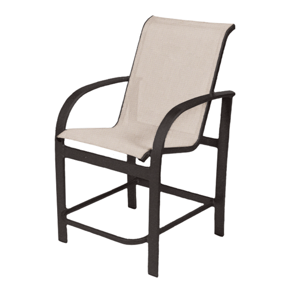 Maya Sling Gathering Chair with Aluminum Frame - 18 lbs.