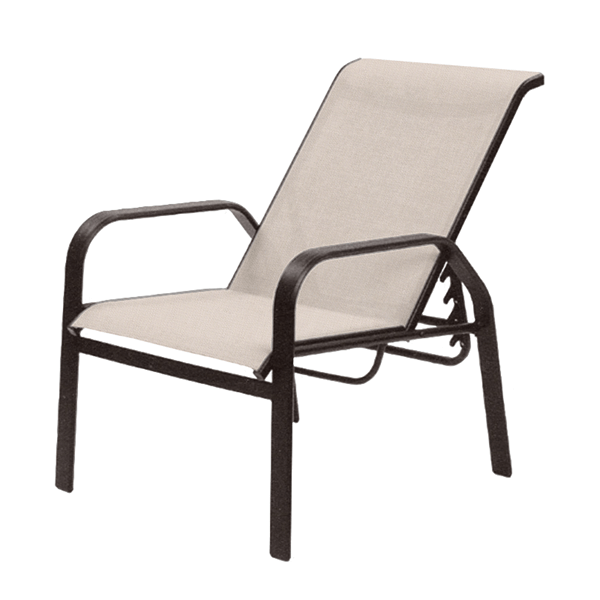 Maya Sling Recliner Chair with Aluminum Frame - 13 lbs.