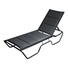 Dania Commercial Padded Sling Chaise Lounge
