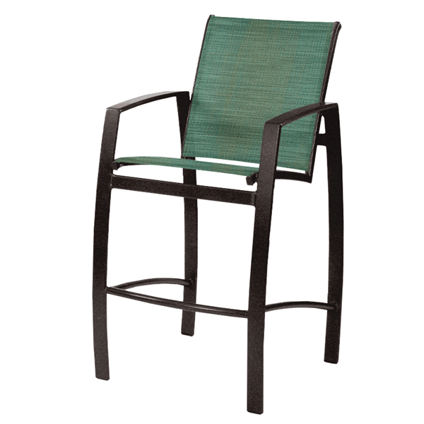 Vision Sling Barstool with Aluminum Frame - 18 lbs.
