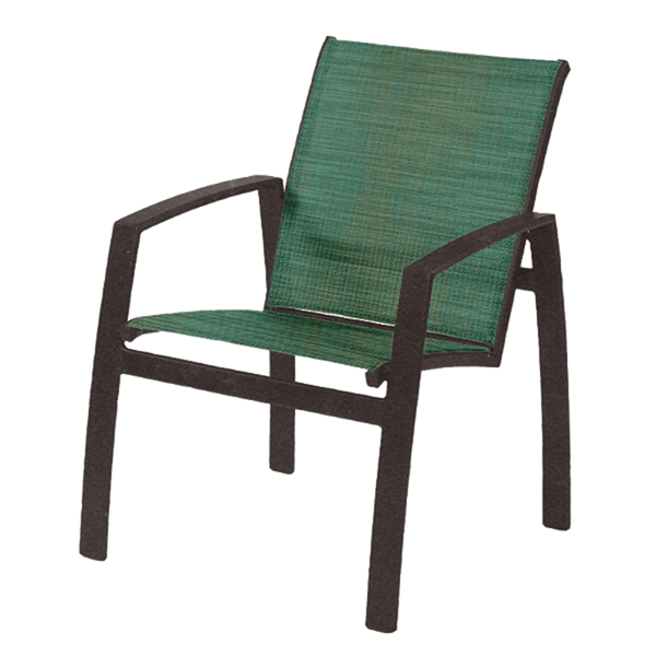 Vision Sling Dining Chair with Aluminum Frame - 10 lbs.