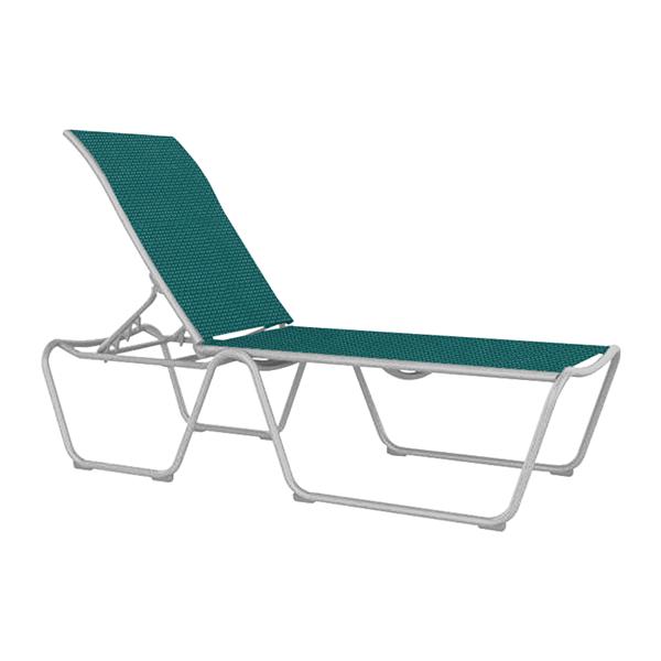 Tropitone Millennia Sling Armless Chaise Lounge