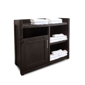 Fairfield Towel Valet and Storage Unit - 70 lbs.