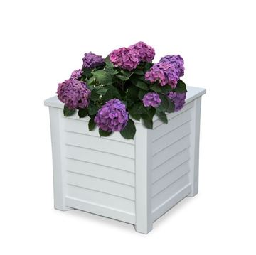 "Lakeland Square Commercial Planters - 16""x16"" or 20""x20"""