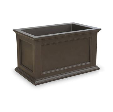 "Fairfield 20"" x 36"" Planter Box with Weather-Resistant Frame - 22 lbs."