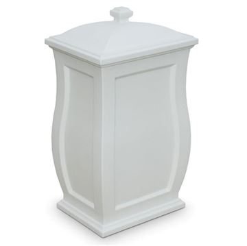 22-Gallon Mansfield Multipurpose Storage Bin with Polyethylene Frame and Removable Lid - 12 lbs.